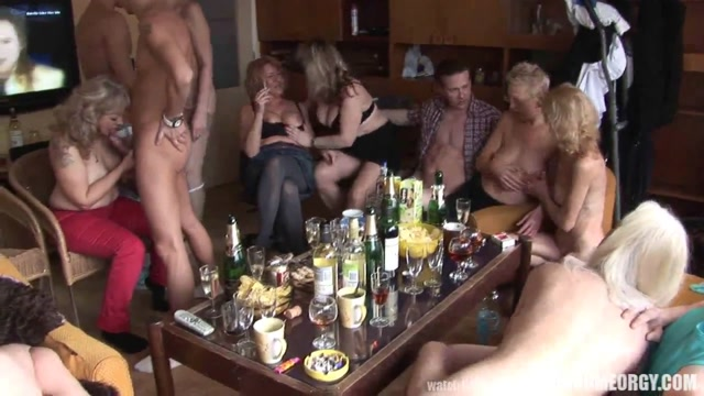 Mature orgy clips hot