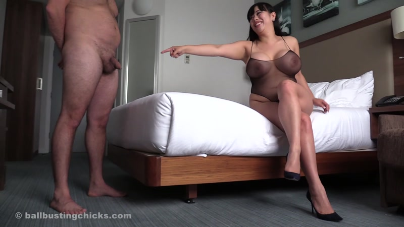 Ball Femdom Cock Ridicule And
