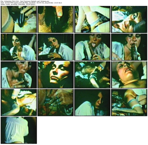 San francisco delight smokey fucks a pretty brunette Part 5