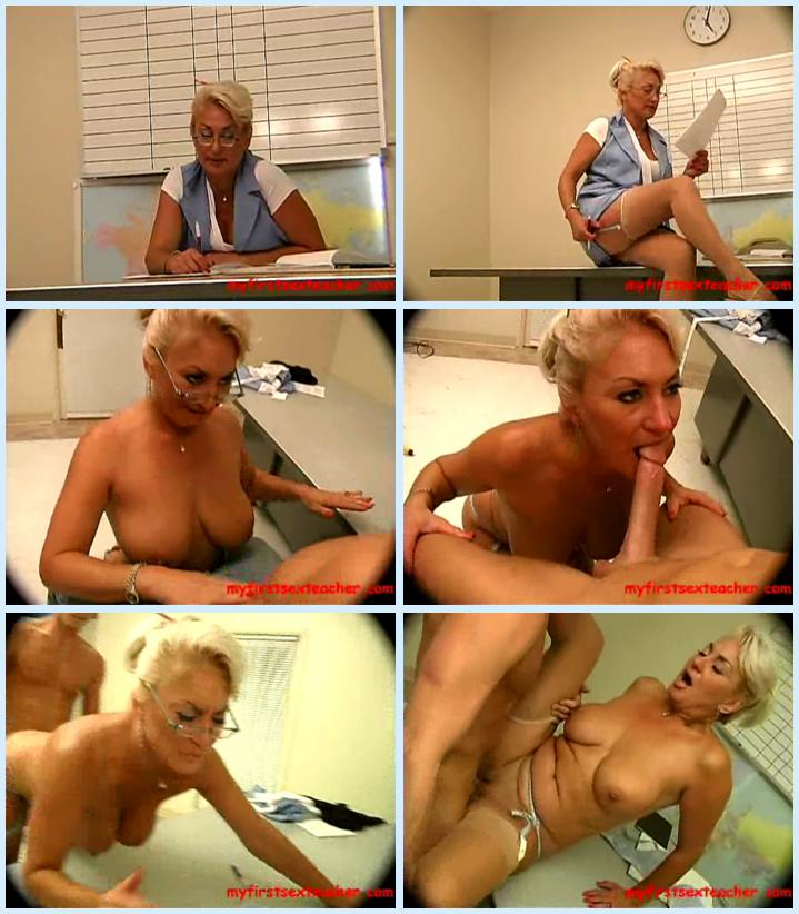 Mrs hayes my first sex teacher