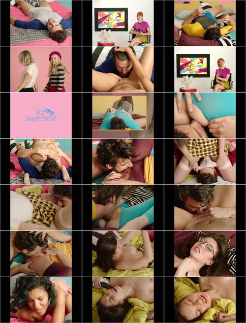 Natalia Ferrari, Lina Bembe, Zazel Paradise, Miyuki Son - Try My Boyfriend (XConfessions) [FullHD 1080p]
