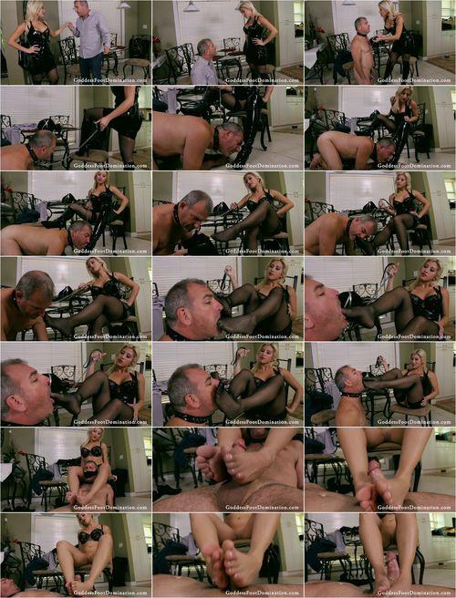Femdom - Cristi Ann - Outcall Foot Session Goddess Cristi Ann [FullHD 1080p]