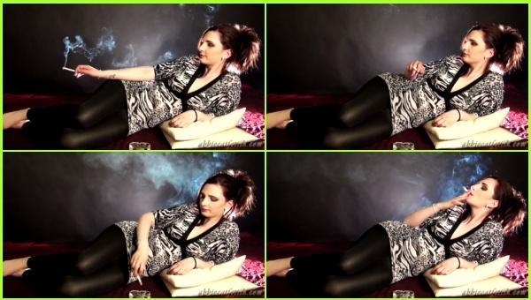 Smoking_800-Mandy Laying and Smoking _cover,