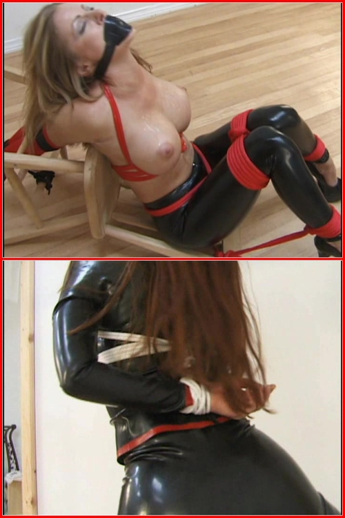 Lashed In Latex – BDSM