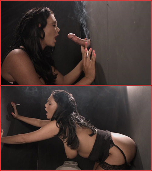 Emma Leigh (Emma Leigh smoking gloryhole sex) 2015 Smoking Fetish, GloryHole