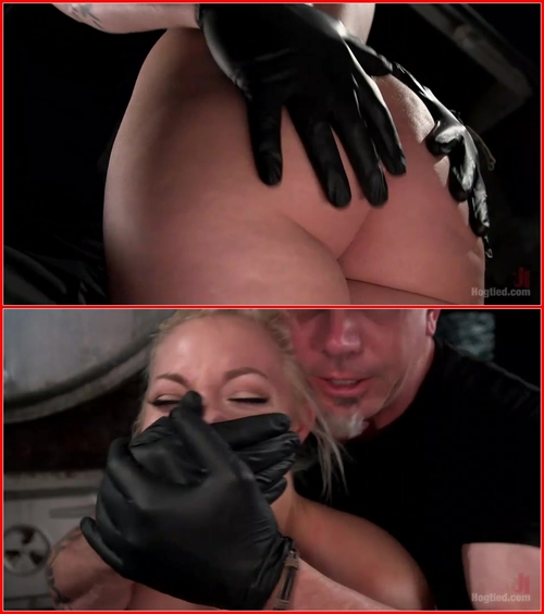 Jenna Ivory (The Marilyn Monroe of Porn in Tight Bondage with Extreme Torment and Orgasms!!!) BDSM, Bondage, Blonde, Fingering, Toys, Hardcore