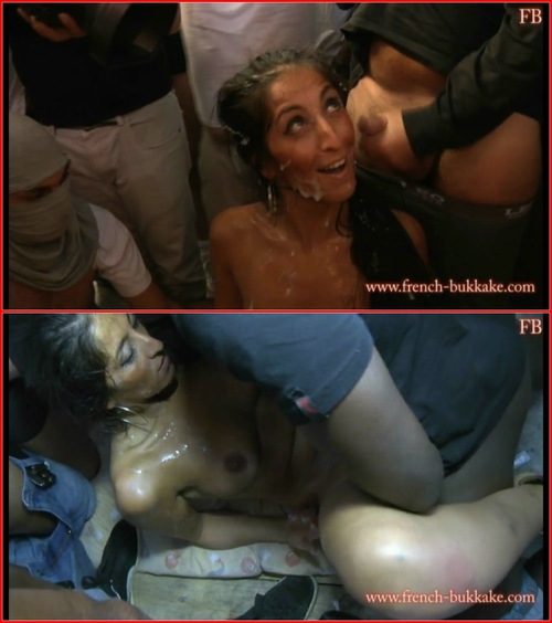 Bukkake, Gang Bang, Group sex ZAHIA 2