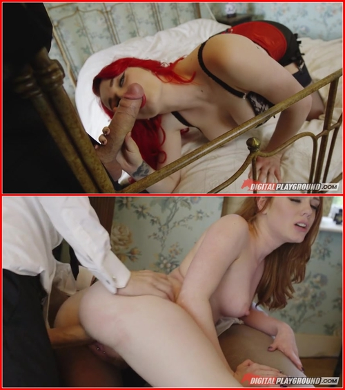 Danny D, Ella Hughes & Jasmine James – 69 Rooms – All Sex, Ass Worship, Blowjob (Double), Deep Throat, Face Fuck, Bondage, Handjob, Masturbation, Cumshot, Clean-Up, Facial