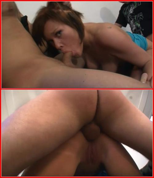 Eva Lasse threesome