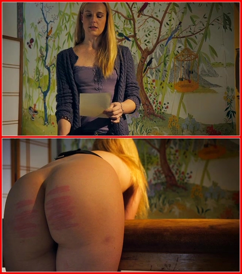 Ariel's Judicial Caning Ariel Andersen (Ariel Anderssen, Hywel Phillips) BDSM, Spanking, Caning