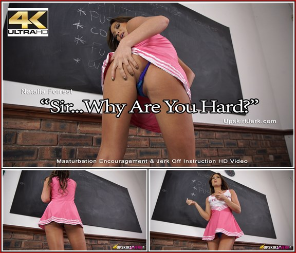 313 natalia forrest sir why are you hard 4k