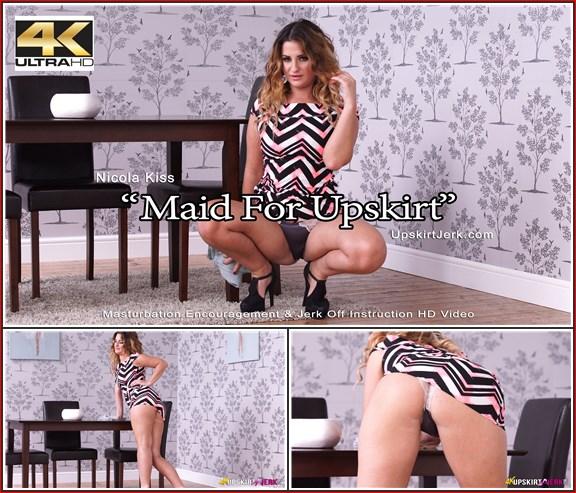 403 nicola kiss maid for upskirt 4k