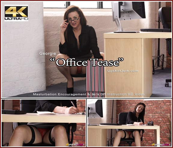 380 georgie-office-tease 4k