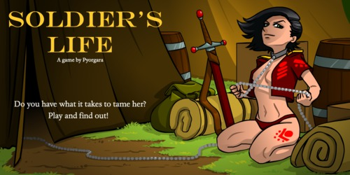 [All Sex] Pyorgara -  Soldier's Life - Comics