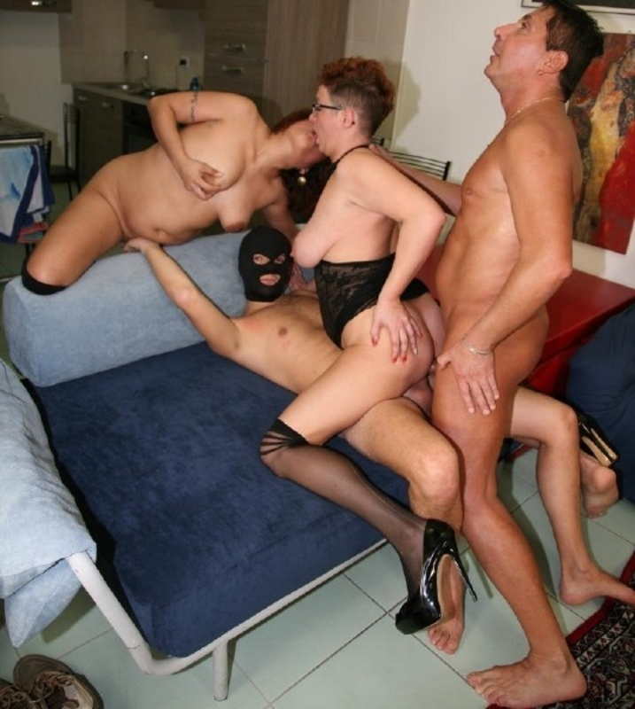 Mature adult orgy
