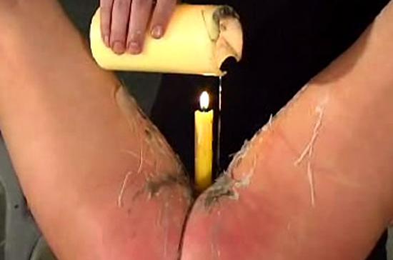 Wax Torture For An Inobedient Bald Pussy Teen