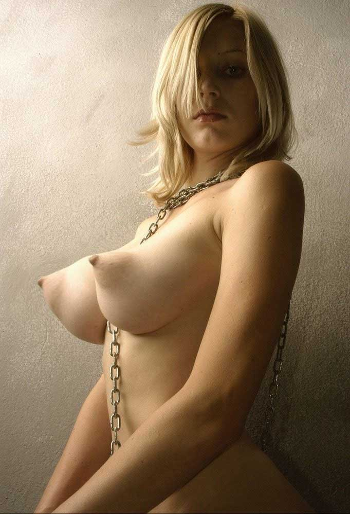 Teen with huge tits and puffy nipples