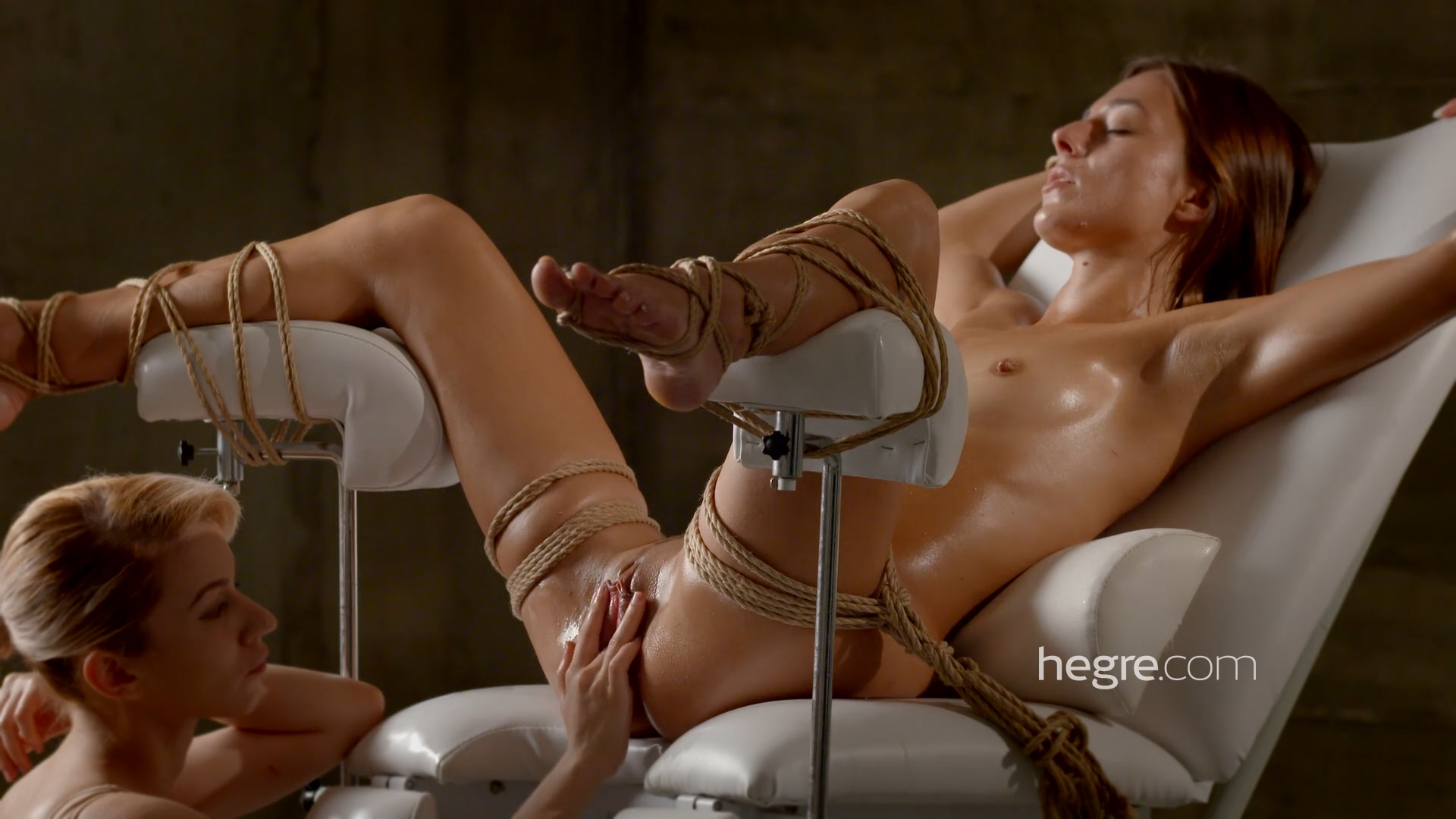Female self bondage orgasm