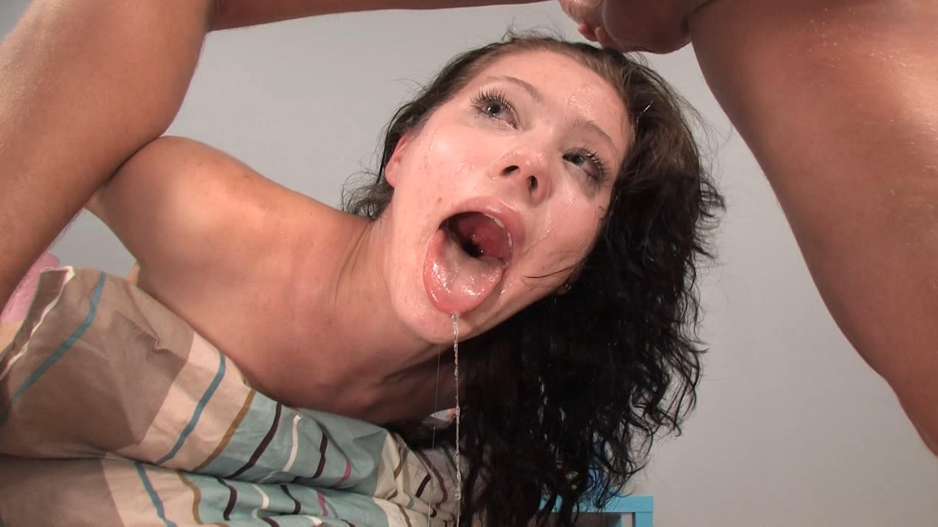 Brutal deep throat, porn